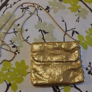 Vintage Valerie Stevens Gold Evening Purse